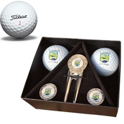 Picture of TITLEIST DT SUNNINGDALE GOLF GIFT BOX