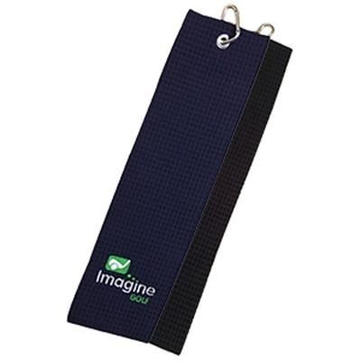 Picture of WOBURN WAFFLE TRIFOLD GOLF TOWEL