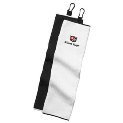Picture of WILSON STAFF MICROFIBRE TRIFOLD GOLF TOWEL