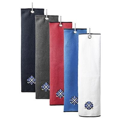 Picture of WAFFLE MICROFIBRE TRIFOLD GOLF TOWEL