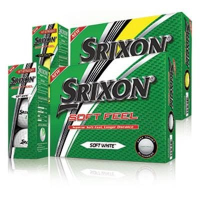 Picture of SRIXON SOFT FEEL GOLF BALL