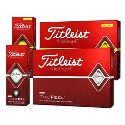 Picture of TITLEIST DT TRUSOFT GOLF BALL