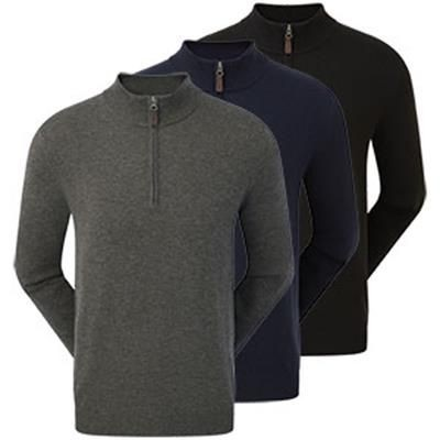 Picture of FOOTJOY WOOL BLEND 1-2 ZIP PULLOVER