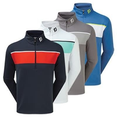 Picture of FOOTJOY JERSEY CHEST STRIPE CHILL-OUT PULLOVER