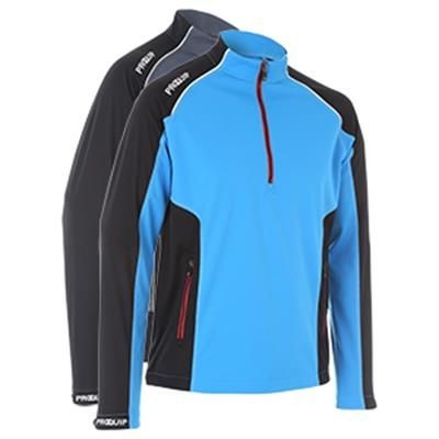 Picture of PQ GENTS TOURFLEX CYCLONE WIND - SOFT SHELL WIND TOP - HALF ZIP