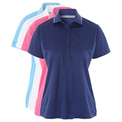 Picture of PQ LADIES HEATHER TECHNICAL GOLF POLO SHIRT