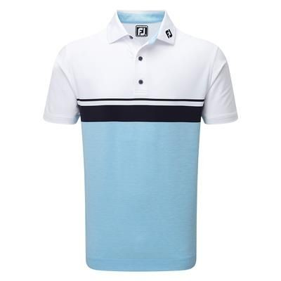 Picture of FOOTJOY STRETCH LISLE COLOUR CUBE BLOCK with Space Dye Athletic Fit