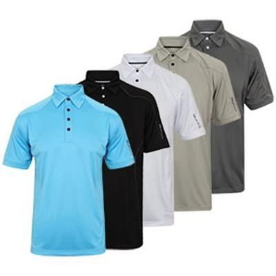 Picture of ISLAND GREEN MENS TOP STITCH POLO