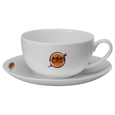 Picture of CAPPUCCINO MUG & SAUCER