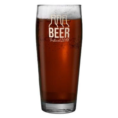 Picture of WILLI BECHER JUBILEE HALF PINT BEER GLASS