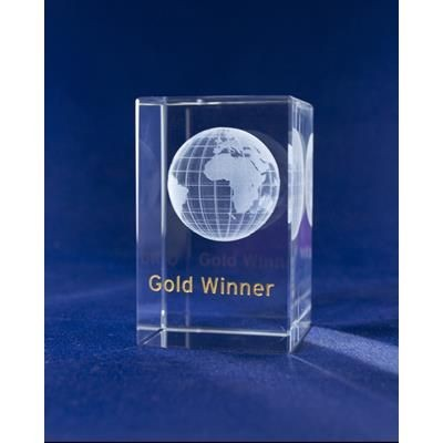 Picture of GOLD STAR PAPERWEIGHT WHO DOESNT LOVE GETTING GOLD STAR FOR THEIR ACHIEVEMENTS? THIS CRYSTAL COLUMN