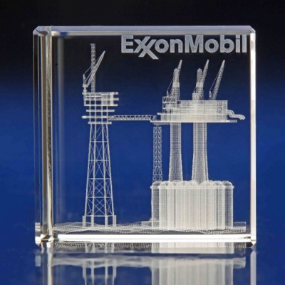 Picture of OIL RIG AWARDS & PAPERWEIGHT GIFT IDEAS
