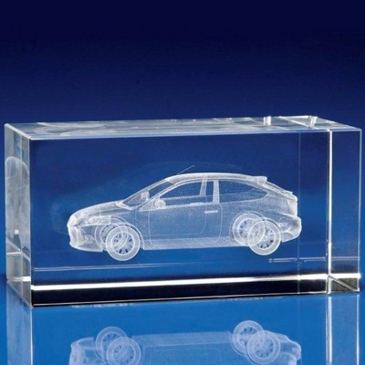 Picture of TRANSPORT AWARD OR PAPERWEIGHT GIFT IDEAS in Crystal
