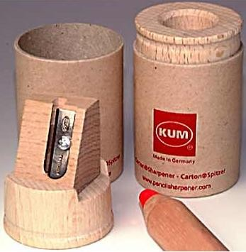 Picture of RECYCLED CARDBOARD PENCIL SHARPENER