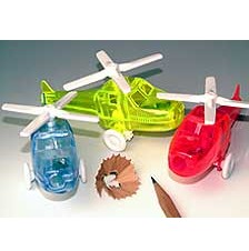 Picture of PLASTIC HELICOPTER PENCIL SHARPENER