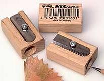 Picture of BEECH WOOD SINGLE PENCIL SHARPENER