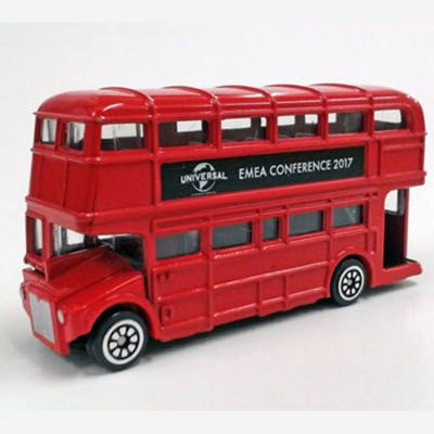 Picture of LONDON DOUBLE DECKER ROUTEMASTER BUS MODEL in Red