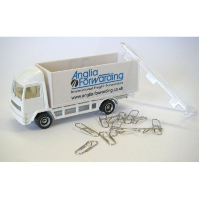 Picture of PAPERCLIP TRUCK MODEL in White