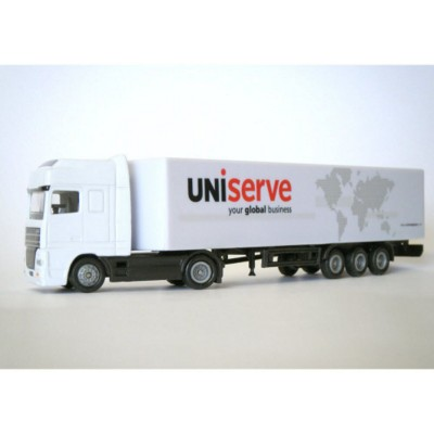Picture of ARTICULATED TRUCK AND STANDARD TRAILER MODEL in White