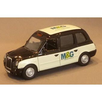Picture of LONDON TX4 STYLE TAXI CAB MODEL in Black