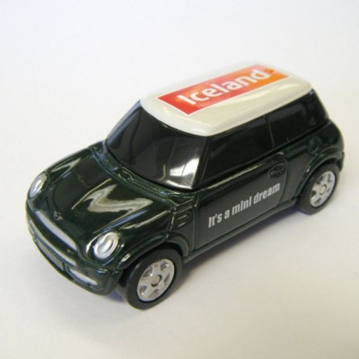 Picture of MINI COOPER CAR MODEL in Green