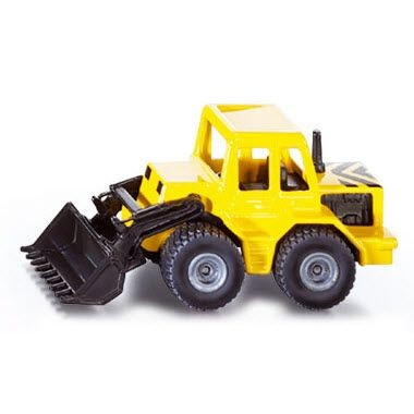 Picture of FRONT LOADER DIGGER CONSTRUCTION TRUCK MODEL in Yellow