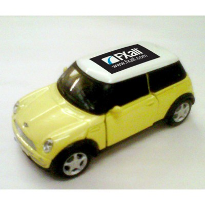 Picture of MINI COOPER CAR MODEL in Yellow