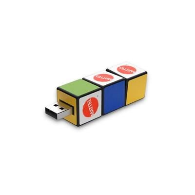 Picture of RUBIKS CUBE SHAPE USB FLASH DRIVE