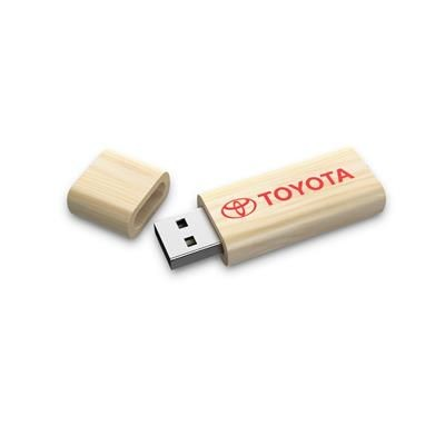 Picture of WOOD USB STICK with Curve Body