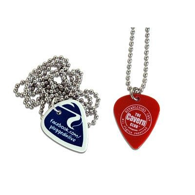 Picture of GUITAR PICK PLECTRUM NECKLACE