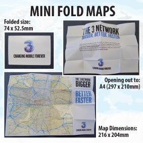 Picture of MINI-FOLD BESPOKE MAP
