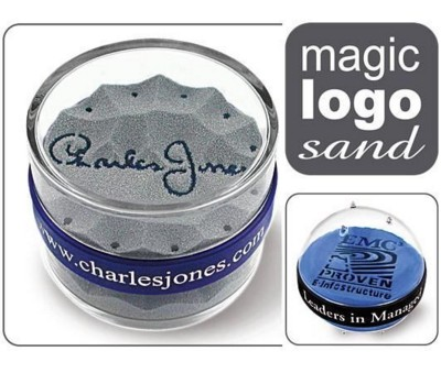 Picture of MAGIC LOGO SAND PAPERWEIGHT