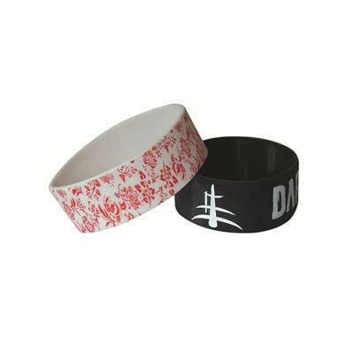 Picture of 1 INCH PRINTED SILICON WRIST BAND