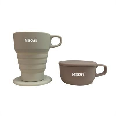 Picture of COLLAPSIBLE MUG with Lid