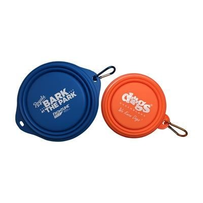 Picture of COLLAPSIBLE SILICON DOG BOWL