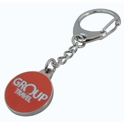 Picture of CAPTIVE TROLLEY COIN KEYRINGS
