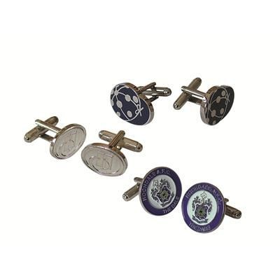 Picture of HARD ENAMEL CUFFLINK