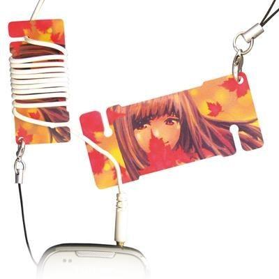 Picture of MINI PLASTIC EARPHONES WINDER CARD
