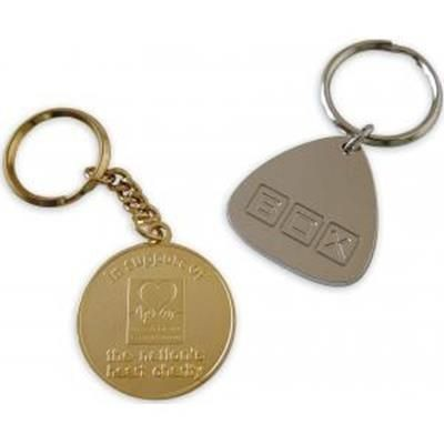 Picture of METAL RELIEF KEYRING