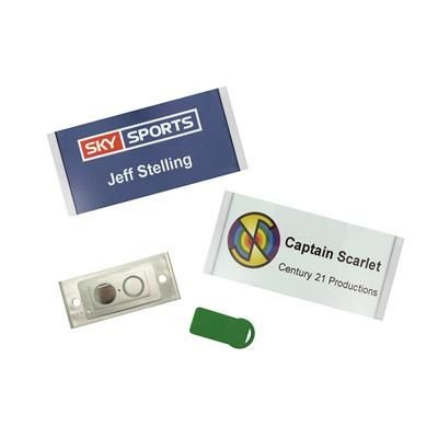 Picture of UK PLASTIC NAME BADGE
