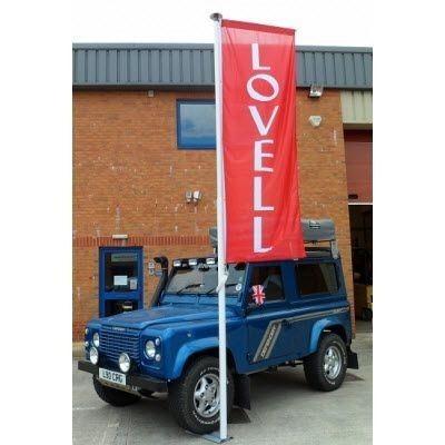 Picture of AUTOMOTIVE FLAG POLE