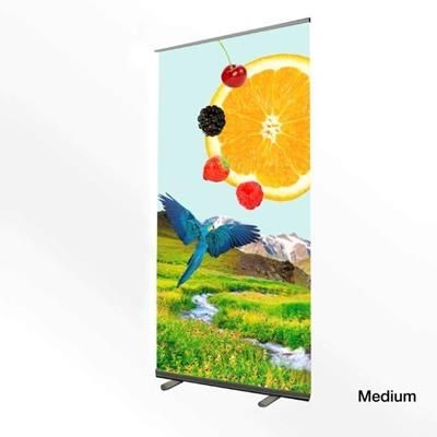 Picture of MEDIUM DELUXE PULL UP ROLLER BANNER