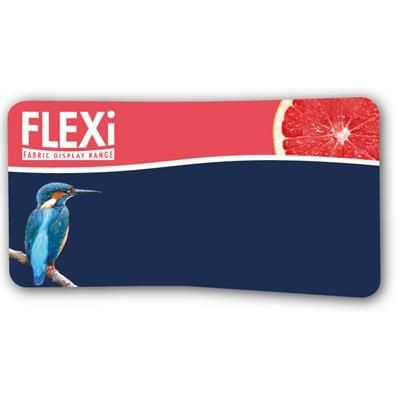 Picture of XLARGE FLEXI CURVE FABRIC DISPLAY WALL