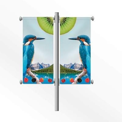Picture of LAMP POST BANNER