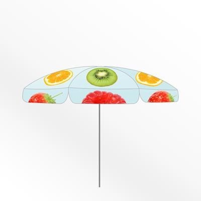 Picture of SMALL ROUND CUSTOM PARASOL