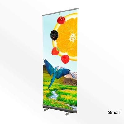 Picture of SMALL PVC PULL UP ROLLER BANNER