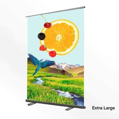 Picture of EXTRA LARGE PVC PULL UP ROLLER BANNER