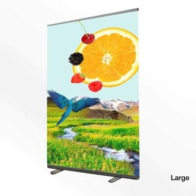 Picture of LARGE PULL UP ROLLER BANNER