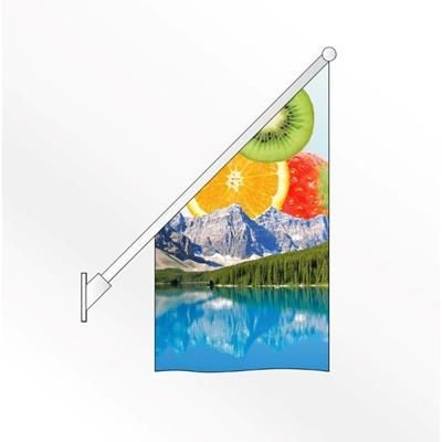 Picture of ANGLED WALL FLAG POLE