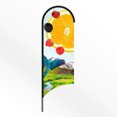 Picture of LARGE WING FEATHER FLAG BANNER with Spiked Base